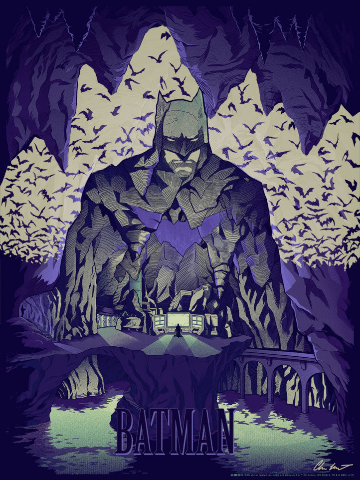 Batcave by Chris Kawagiwa | Batman vs. Superman