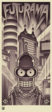 Bender's Big Score lithograph