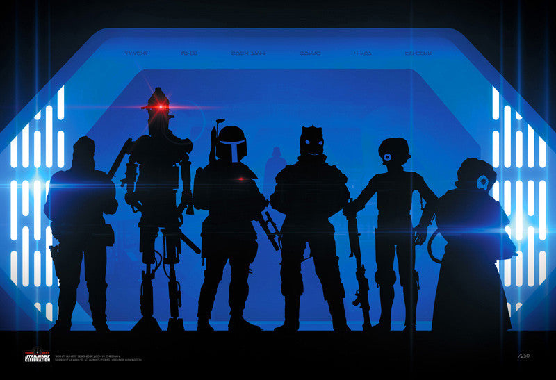 Bounty Hunters by Jason Christman | Star Wars Celebration Orlando