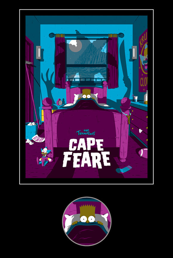 Cape Feare Collectible Pin: Bart by Florey | The Simpsons