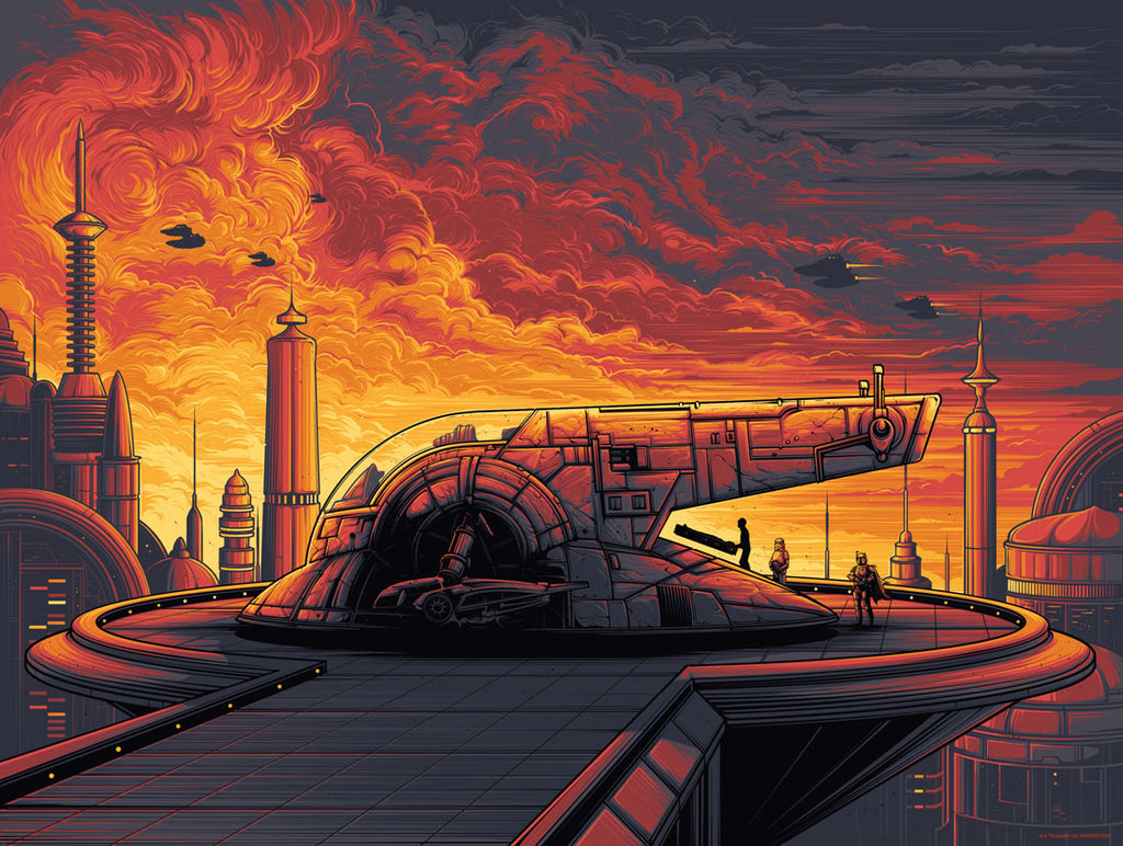 Cloud City variant by Dan Mumford | Star Wars