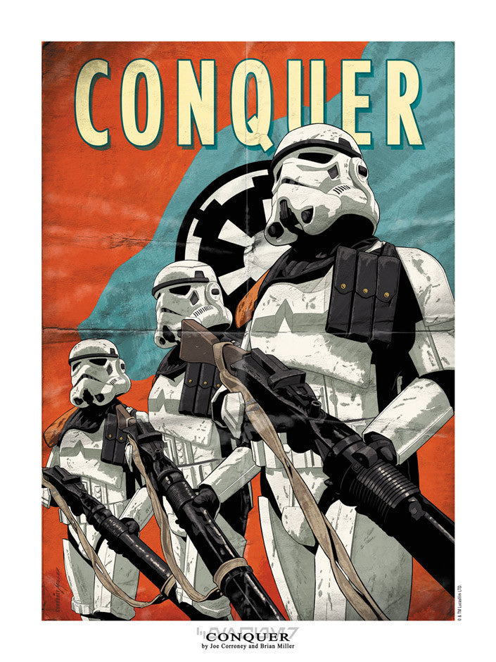 Conquer by Joe Corroney & Brian Miller