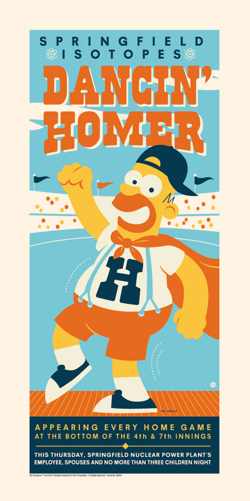 Dancin' Homer by Dave Perillo | The Simpsons