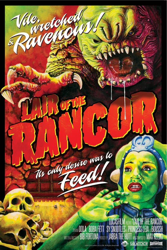 Lair of the Rancor by Mark Daniels