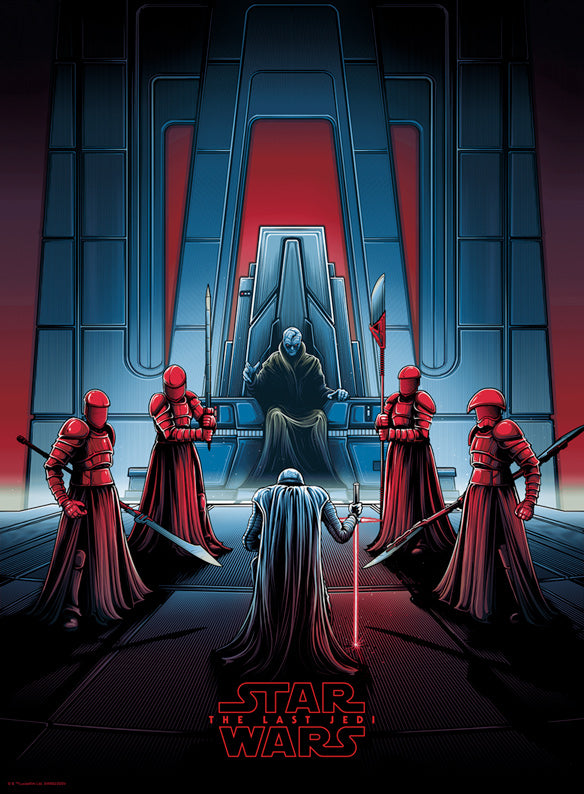 """Darkness Rises and Light to Meet It"" Timed Edition by Dan Mumford 