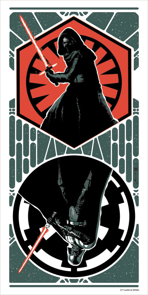 Dark Sides by Brian Miller | Star Wars