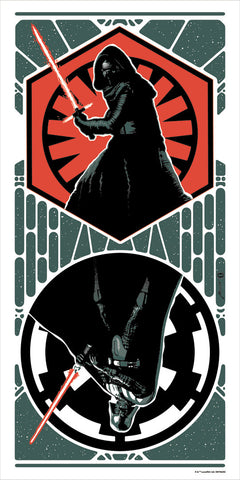 Dark Sides by Brian Miller | Star Wars Kylo Ren Darth Vader