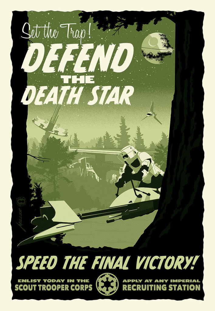 Defend the Deathstar by Brian Miller