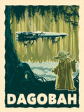 Destination Dagobah by Brian Miller | Star Wars