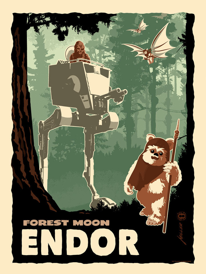 Destination Endor by Brian Miller | Star Wars