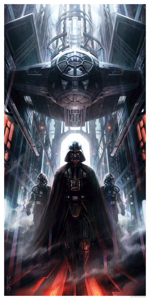 Machines of dominion by raymond swanland dark ink for Domon power release