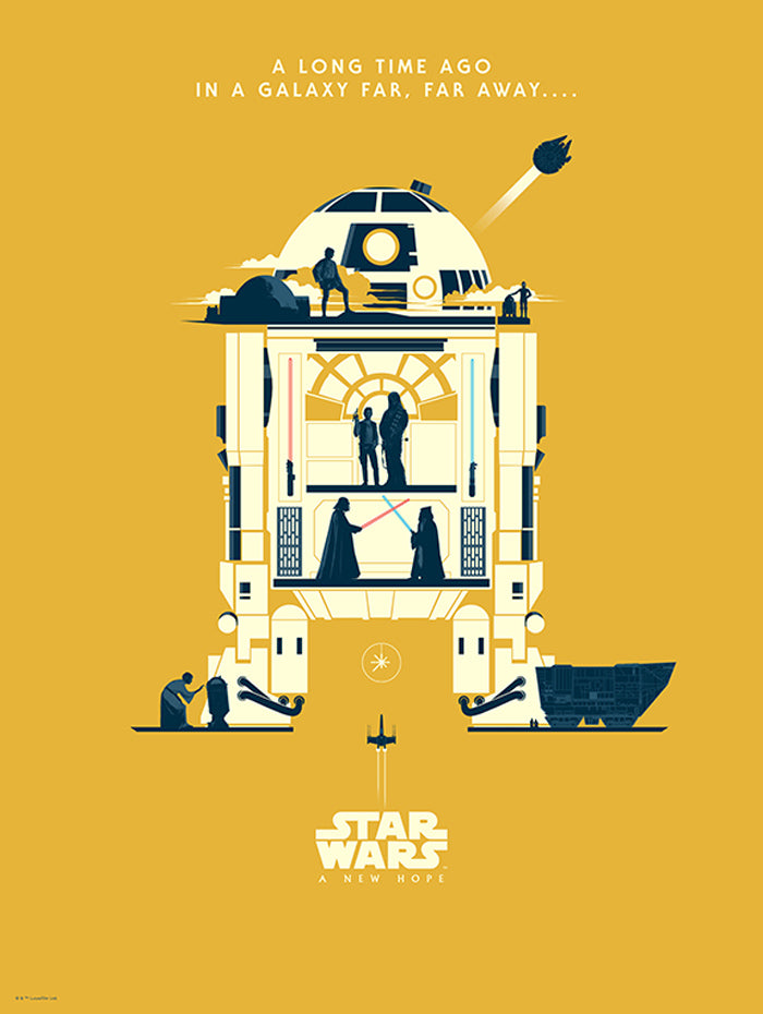 The Droids You're Looking For by Matt Ferguson | Star War