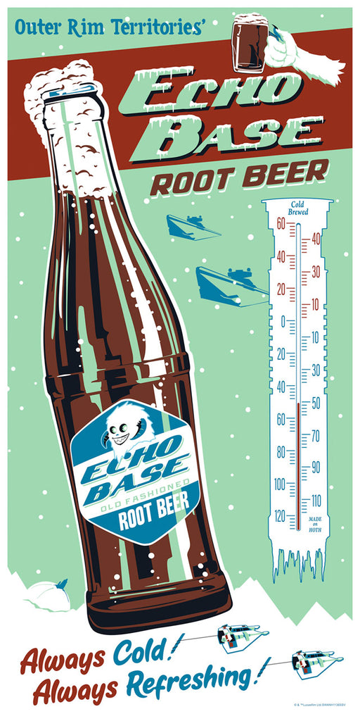 Echo Base Root Beer variant by Steve Thomas | Star Wars SDCC2019
