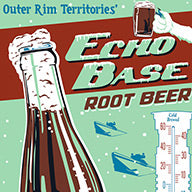 SDCC EXCLUSIVE Echo Base Root Beer variant