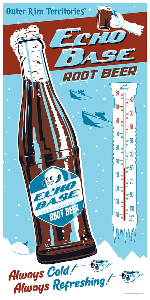Echo Base Root Beer by Steve Thomas | Star Wars SDCC2019 Release