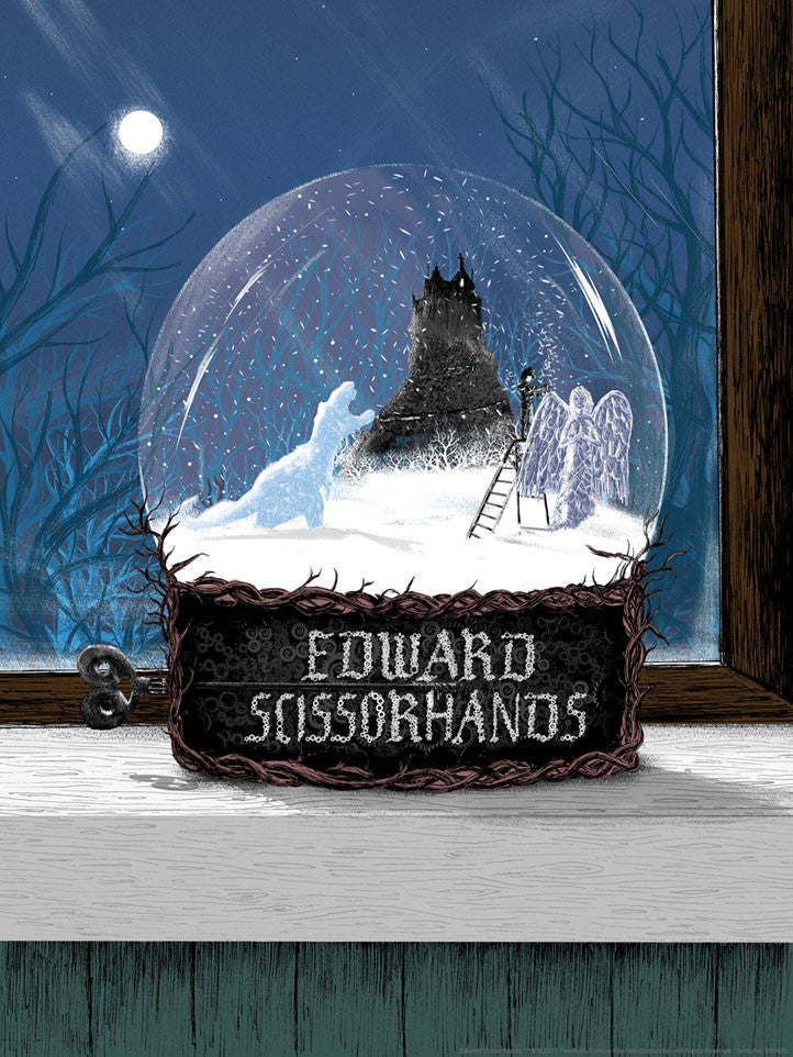 Ed's Garden by Matt Saunders | Edward Scissorhands