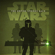 Empire Strikes Back litho