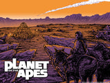 Falling Star by Barry Blankenship | Planet of the Apes