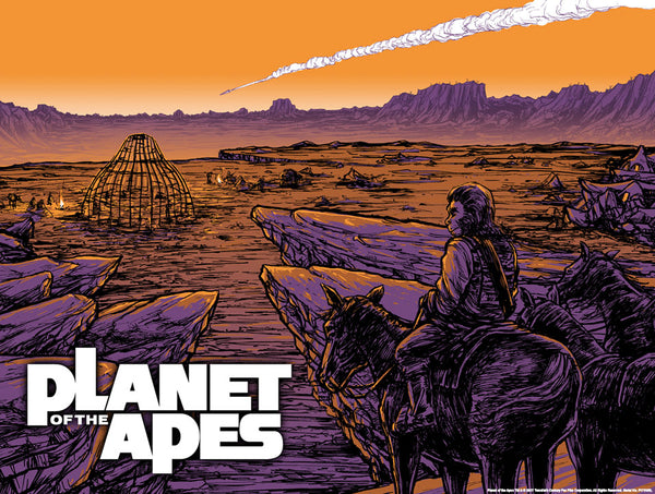 Planet of the Apes print by Barry Blankenship