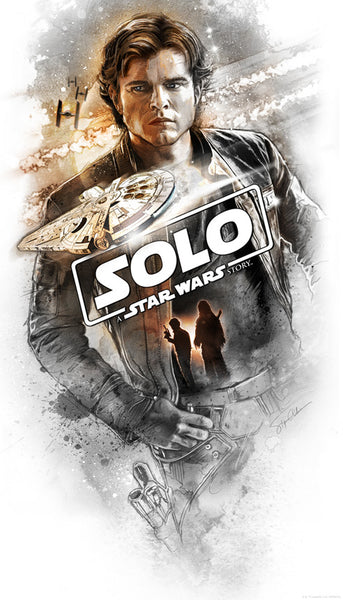 Flying Solo by Steve Anderson | Solo: A Star Wars Story