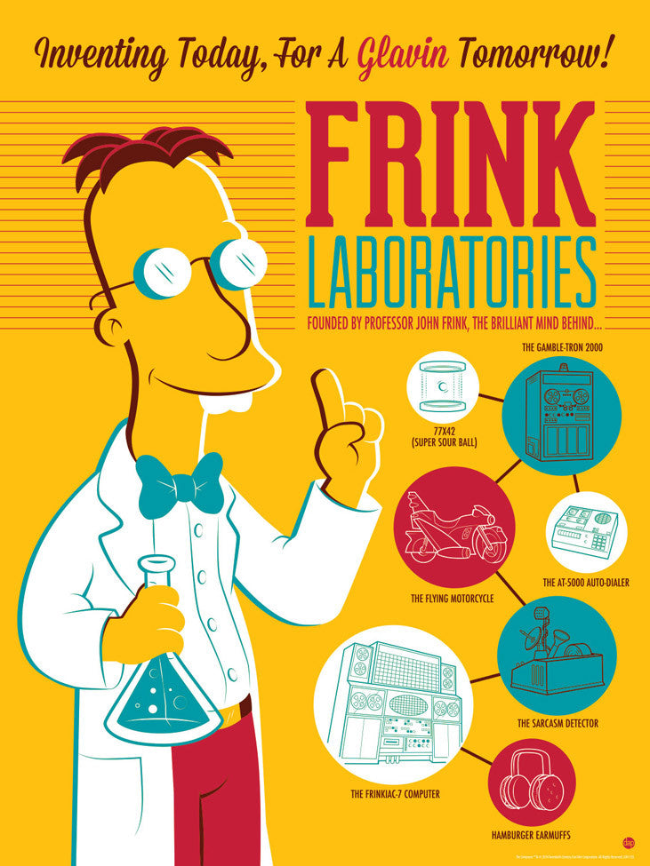 Frink Laboratories by Dave Perillo