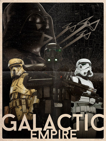 Galactic Empire by Louis Solis | Rogue One Star Wars