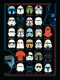 Helmets by Dave Perillo | Star Wars