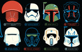 Helmets by Dave Perillo | Star Wars close up