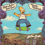 """Homer the Daredevil"""