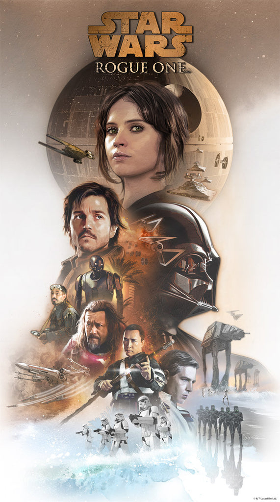 Hope Rising by Steve Anderson | Star Wars Rogue One