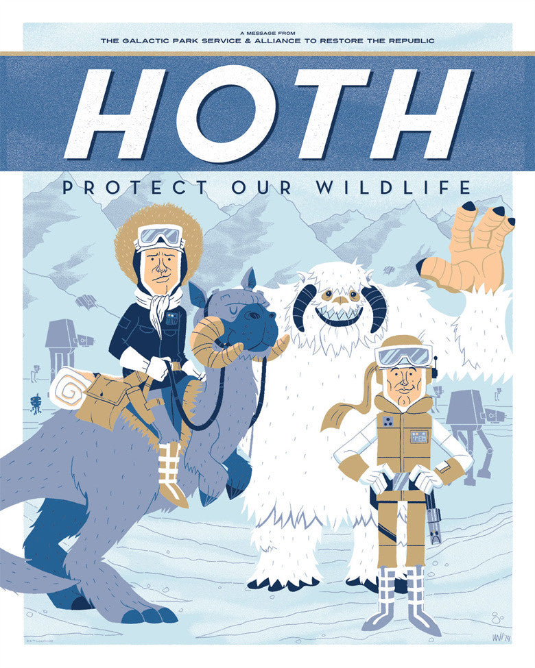 Hoth: Protect Our Wildlife by Ian Glaubinger