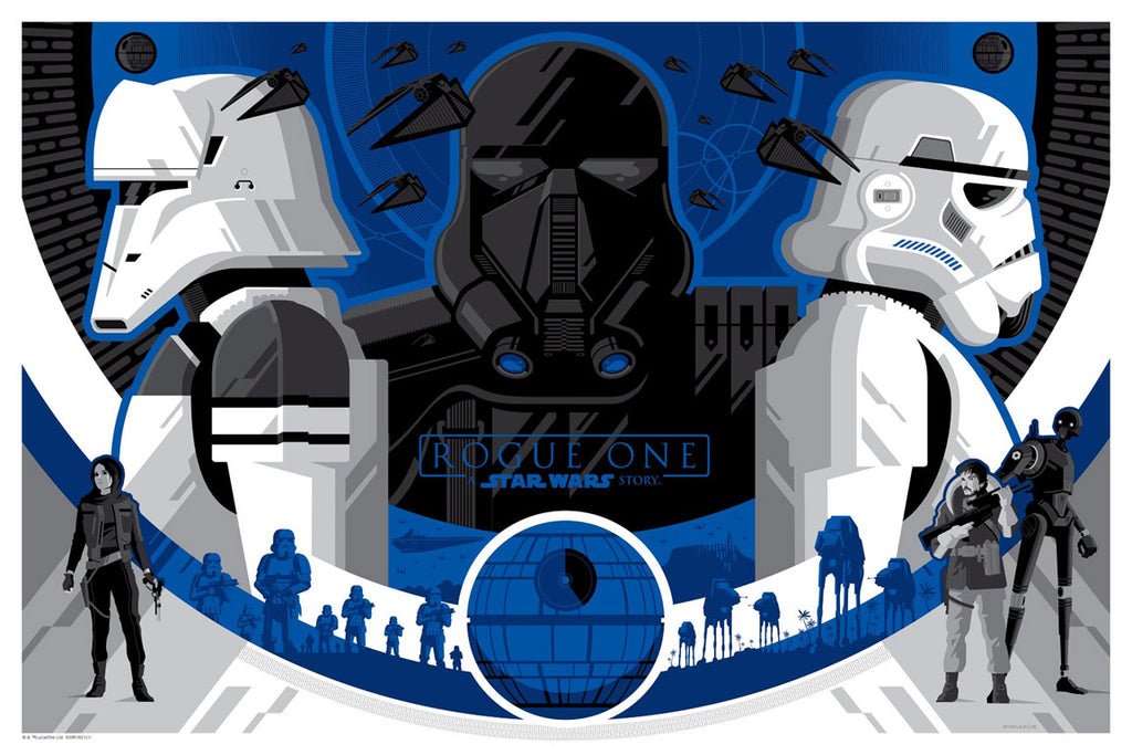 Imperial Forces variant by Tom Whalen | Star Wars