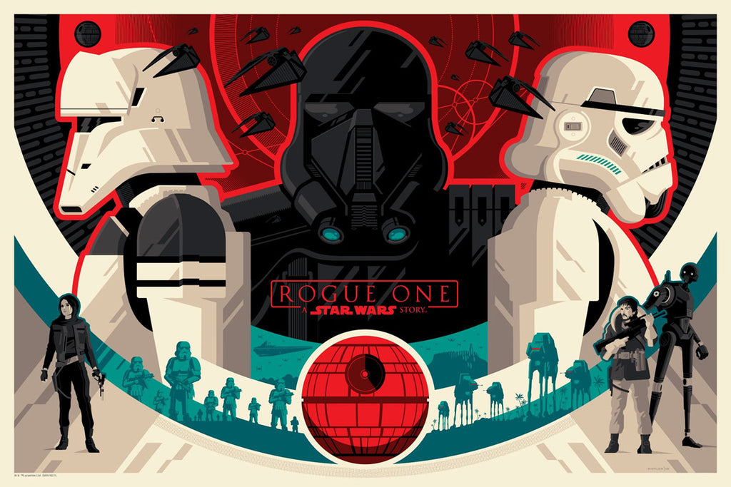 Imperial Forces by Tom Whalen | Star Wars