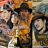 Indy Set of Three by J.J. Lendl | Indiana Jones thumb