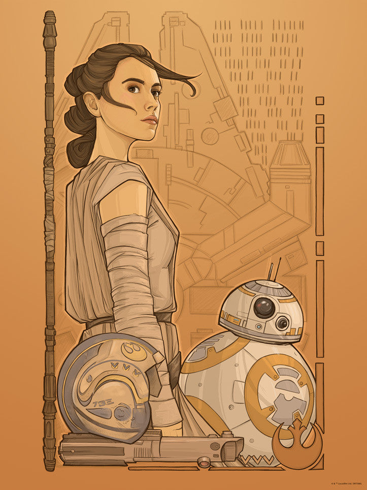 Beyond Jakku by Karen Hallion | Star Wars The Force Awakens