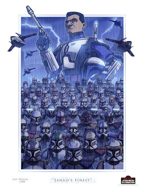 Jango's Finest by Joe Hogan | Star Wars Celebration Orlando