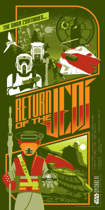 Return of the Jedi by Mark Daniels