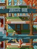 Jurassic Bark by Florey Bottleneck Futurama edition