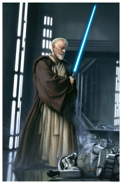 Star Wars Knight of the Old Republic Obi-Wan Kenobi by Jerry Vanderstelt