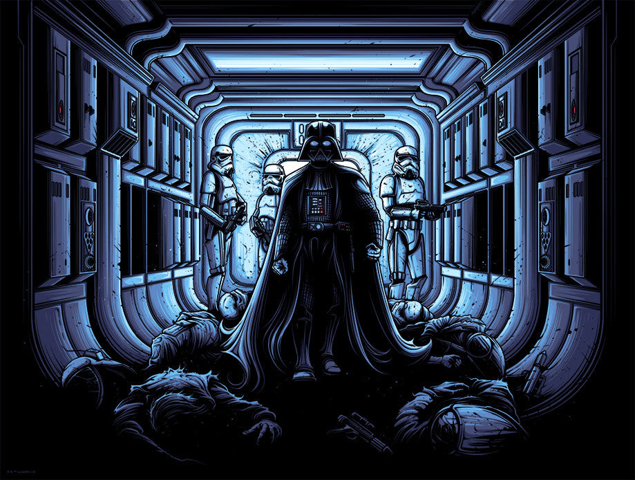 I Find Your Lack of Faith Disturbing variant by Dan Mumford