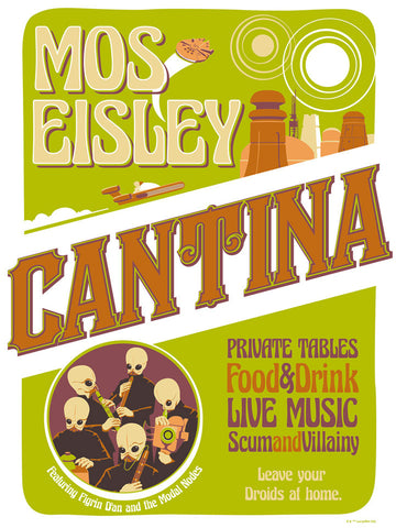Mos Eisley Cantina by Steve Thomas | Star Wars