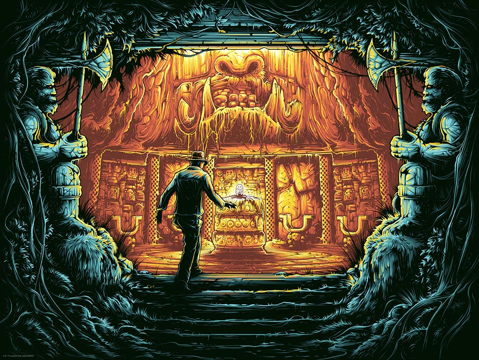 There is Nothing to Fear Here variant by Dan Mumford | Indiana Jones