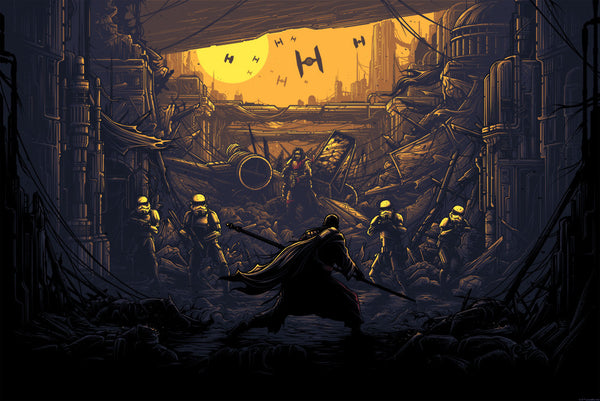 Rogue One variant print by Dan Mumford