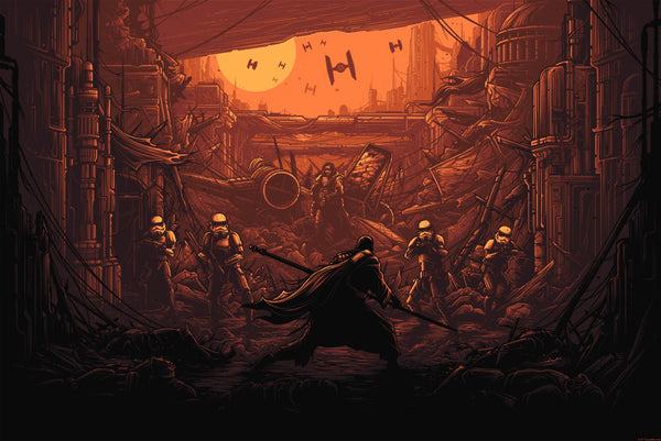 Rogue One print by Dan Mumford