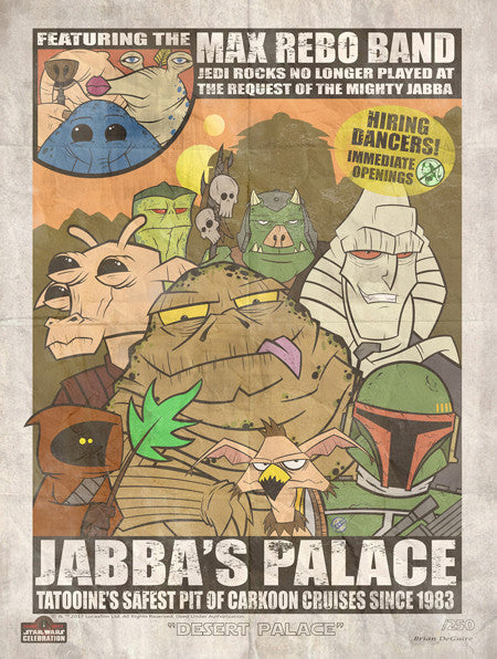 Desert Palace by Brian Deguire | Star Wars Celebration Orlando