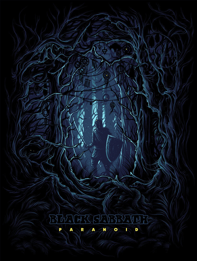 Paranoid by Dan Mumford | Black Sabbath
