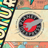 """Planet Express Logo"" Pin"