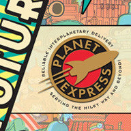"""Planet Express Logo"" Pin (variant)"