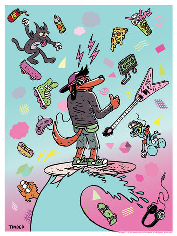 Poochie by Jeremy Tinder | The Simpson print
