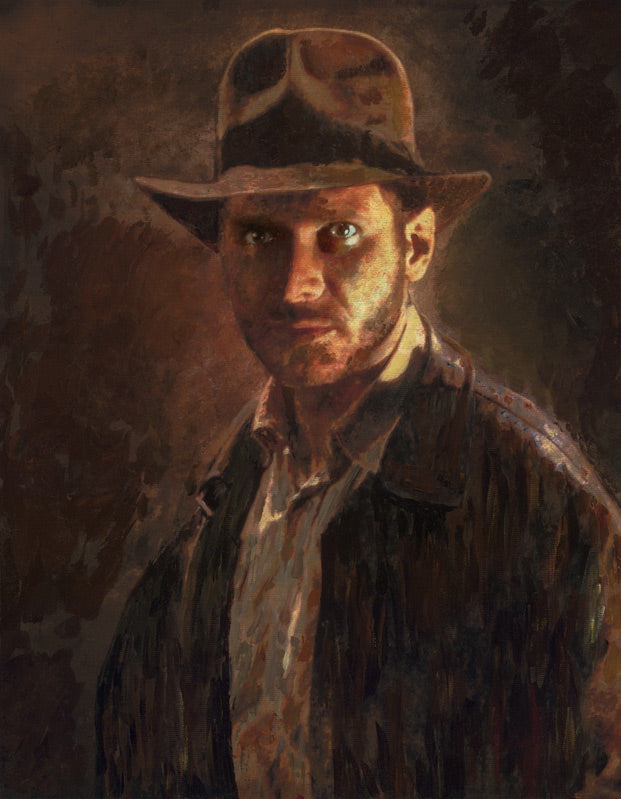 Portrait of Adventure by Masey | Indiana Jones SDCC 2018 Exclusive